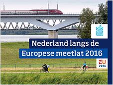 Cover Nedelandse langs de Europese meetlat 2016